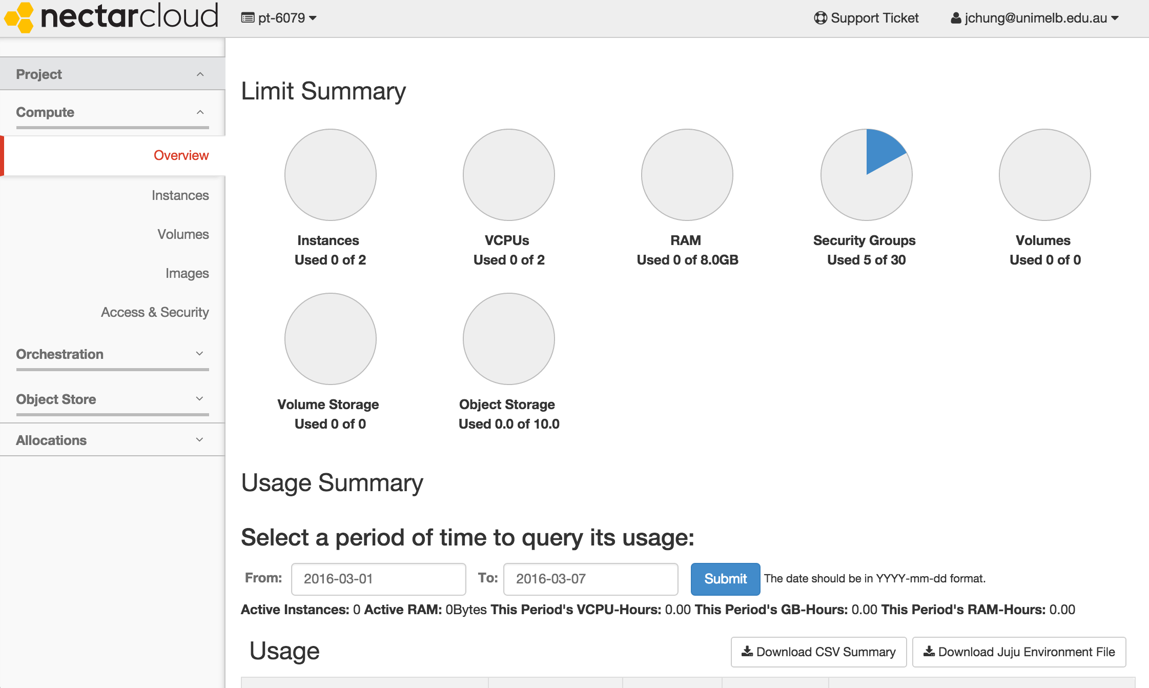 Launching a Personal GVL Server - Bioinformatics Documentation